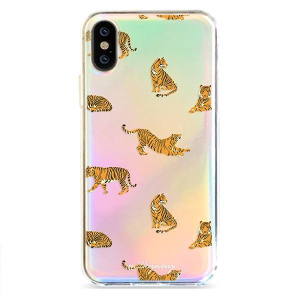 Tiger Streak - Holographic iPhone Case