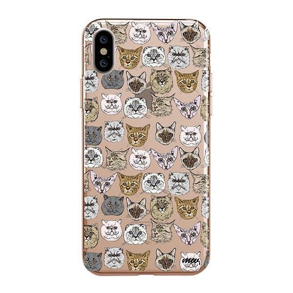 Cat Overload 2 - iPhone XS Max Clear Case