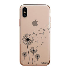 Dandelion iPhone XS Max Case Clear