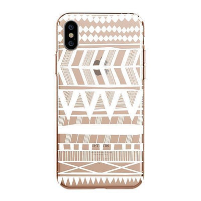 Itzli Henna Clear TPU Case - Clear Cut Silicone iPhone Cover - Milkyway Cases