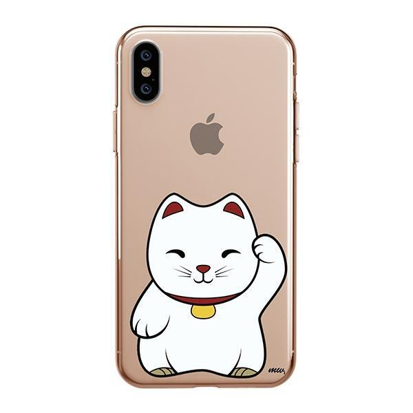 Lucky Cat - iPhone XS Max Clear Case