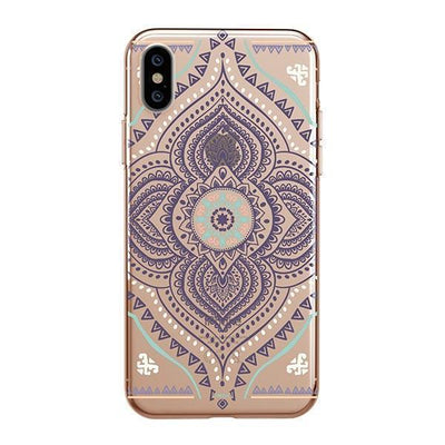Opulent Mandala Clear TPU Case - Clear Cut Silicone iPhone Cover - Milkyway Cases