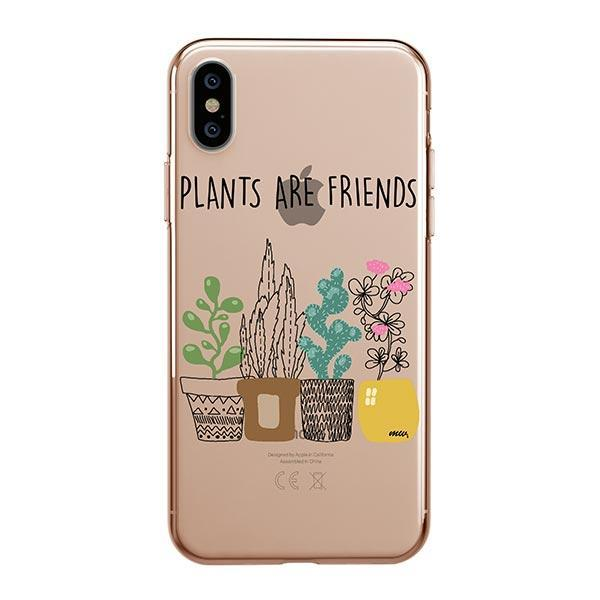 Plants Are Friends iPhone XS Max Case Clear