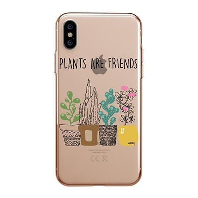 Plants Are Friends - iPhone Clear Case