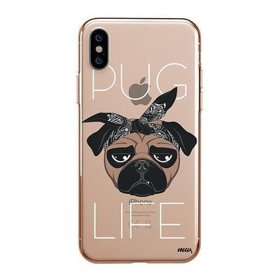 Pug Life - iPhone Clear Case