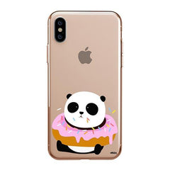 Pandonut iPhone XS Max Case Clear