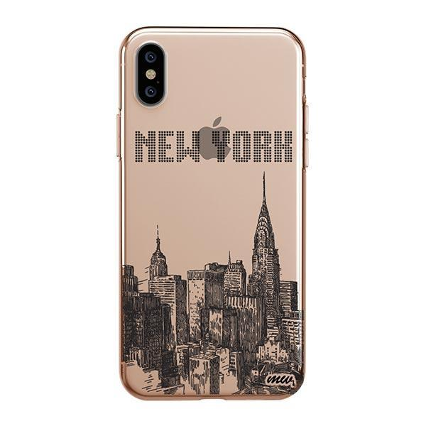 The Big Apple iPhone XS Max Case Clear