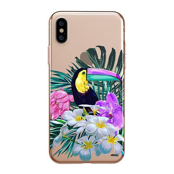 Toucan - iPhone XS Max Case Clear