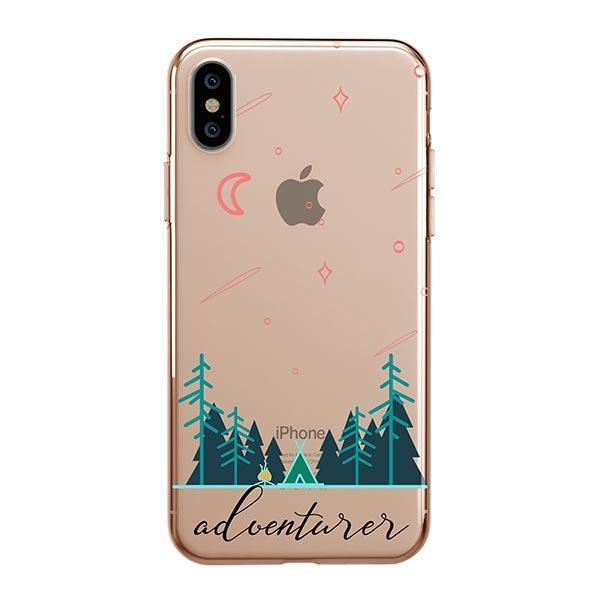 Adventurer iPhone XS Max Case Clear