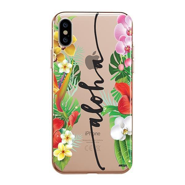 Aloha iPhone XS Max Case Clear