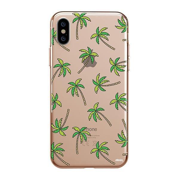 Aloha Trees iPhone XS Max Case Clear