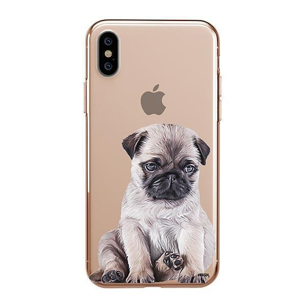 Baby Pug - iPhone XS Max Clear Case