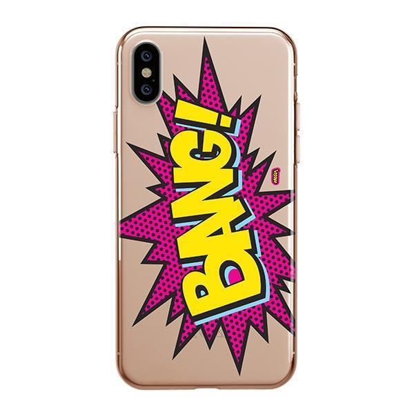 Bang! iPhone XS Max Case Clear