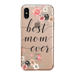Best Mom Ever iPhone XS Max Case Clear