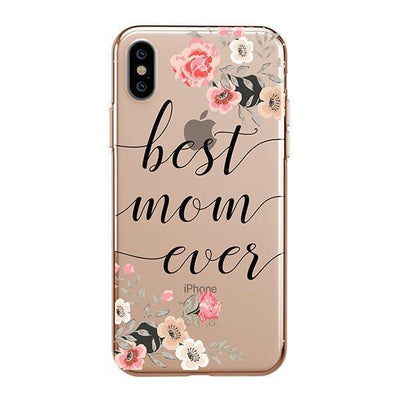 Best Mom Ever - iPhone Clear Case