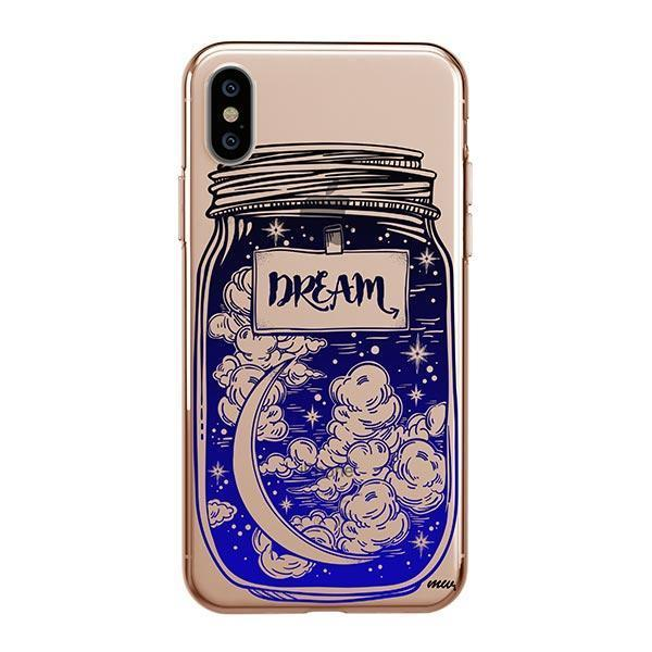 Blue Dream iPhone XS Max Case Clear