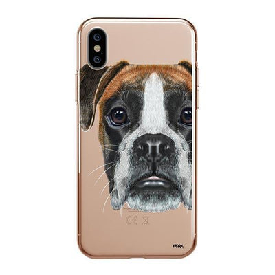 Boxer - iPhone Clear Case