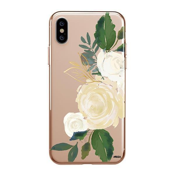 Caroline iPhone XS Max Case Clear