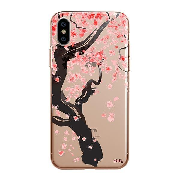 Cherry Blossom Tree iPhone XS Max Case Clear