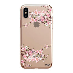 Cherry Blossom iPhone XS Max Case Clear