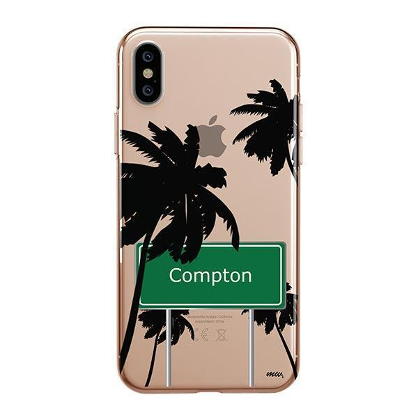 Compton iPhone XS Max Case Clear