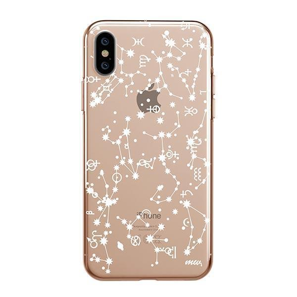 Constellation iPhone XS Max Case Clear