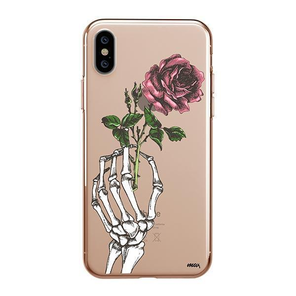 Crane Rose Iphone Xs Max Case Clear Milkyway