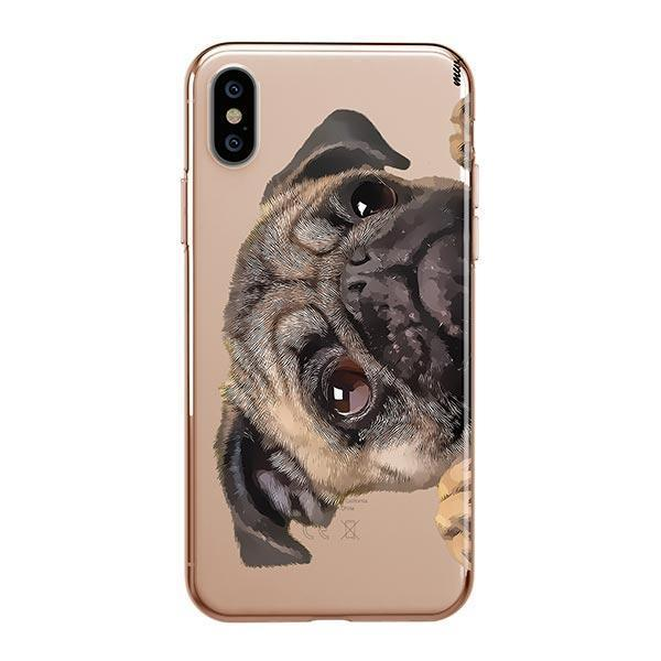 Cry Baby Pug - iPhone XS Max Clear Case