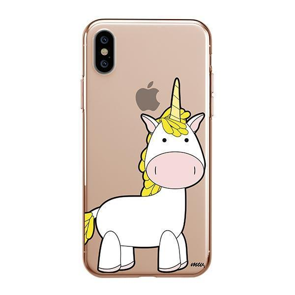 watch bdde3 2f4ed Cute Unicorn iPhone XS Max Case Clear