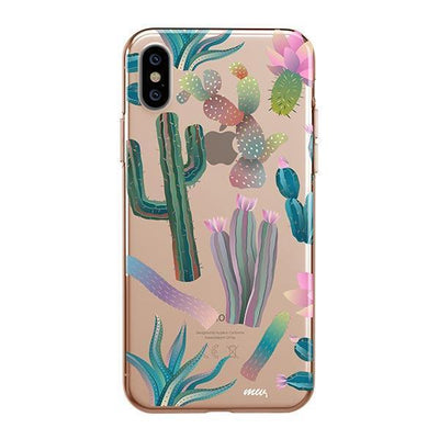 Desert Night Clear TPU Case - Clear Cut Silicone iPhone Cover - Milkyway Cases