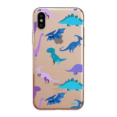 Dino Time iPhone XS Max Case Clear