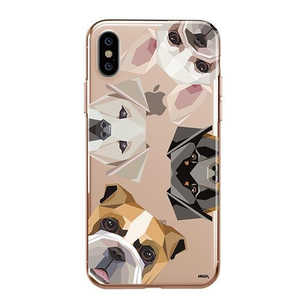 Dogs with Attitude - iPhone XS Max Clear Case