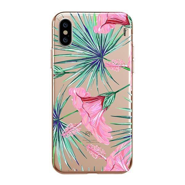 Exotic Hibuscus iPhone XS Max Case Clear