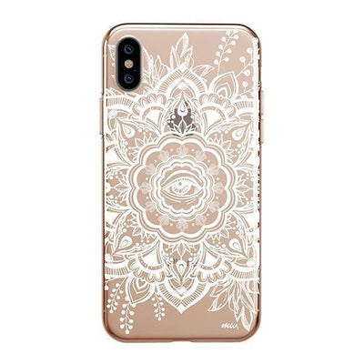 Henna Floral Eye Clear TPU Case - Clear Cut Silicone iPhone Cover - Milkyway Cases