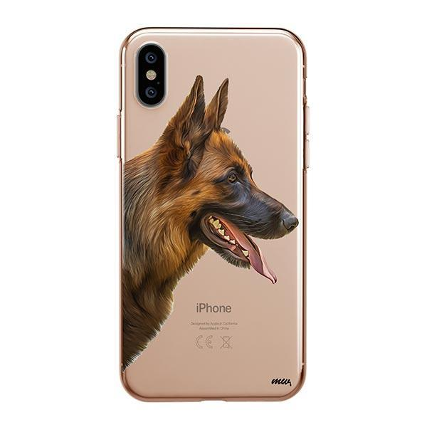 German Shepherd - iPhone XS Max Clear Case