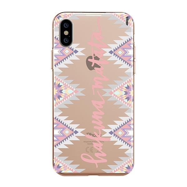 Hakuna Matata iPhone XS Max Case Clear