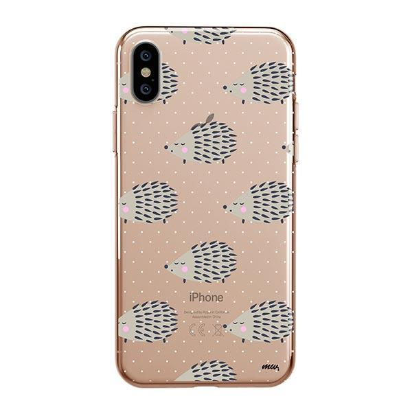 Hedgehog - iPhone XS Max Case Clear
