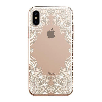 Illume Henna Clear TPU Case - Clear Cut Silicone iPhone Cover - Milkyway Cases
