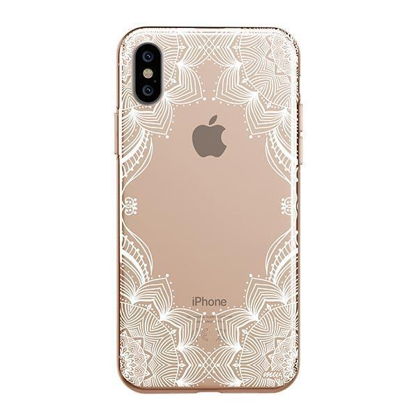 Illume Henna iPhone XS Max Case Clear