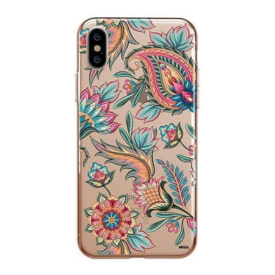 Lola Paisley Clear TPU Case - Clear Cut Silicone iPhone Cover - Milkyway Cases