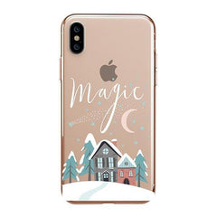 Christmas Magic iPhone XS Max Case Clear