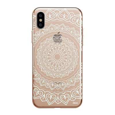 Mandala Hearts - iPhone Clear Case