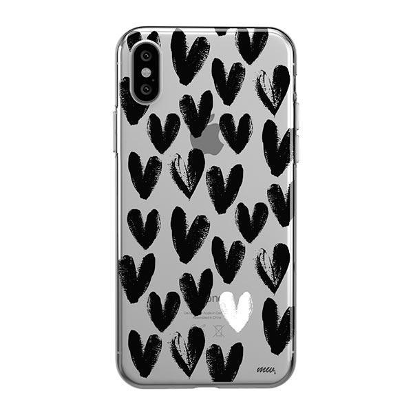One Love iPhone XS Max Case Clear