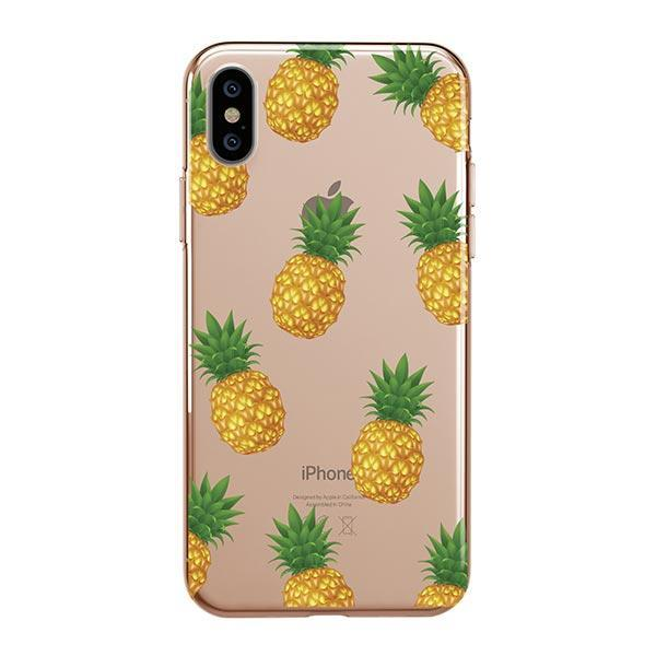 official photos e0b1e ffd83 Pineapple Overload iPhone XS Max Case Clear