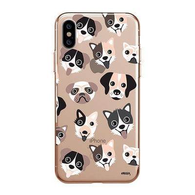 Puppy Love - iPhone Clear Case