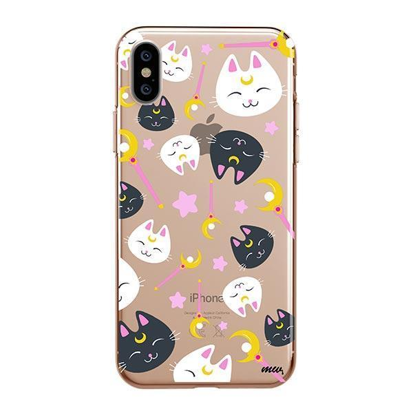 Sailor Kitty - iPhone XS Max Clear Case
