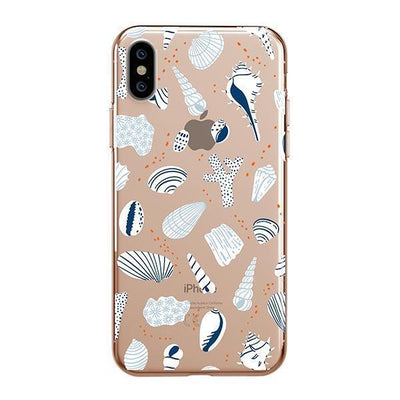 Sea Shells - iPhone Clear Case