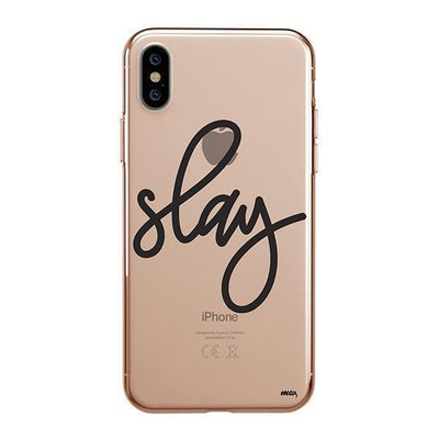 Slay Clear TPU Case - Clear Cut Silicone iPhone Cover - Milkyway Cases