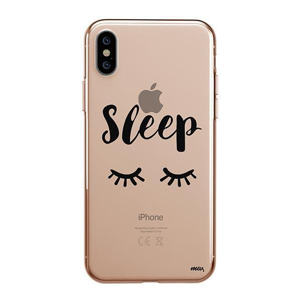 Sleep iPhone XS Max Case Clear