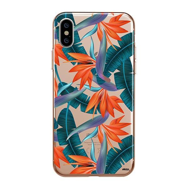 Strelitzia iPhone XS Max Case Clear